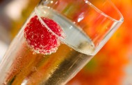 Updated (with more love!): What's Valentine's Day all about? Why, love and champagne, of course!